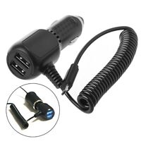 Dual USB Charging Car Charger Adapter Micro USB Data Cable For Android Phone