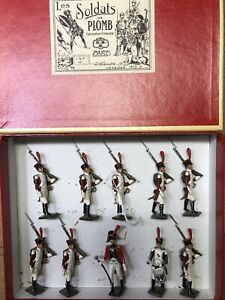 CBG Mignot: Boxed Set - French Infantry, c1805. Post War c1970
