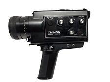 Vintage Chinon XL555 Super 8 Cine Camera 8-40mm F1.2 Needs Battery Case  EUC