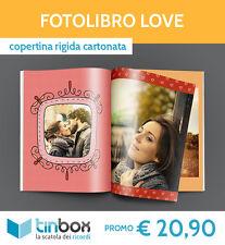 FOTOLIBRO LOVE f.to A4 - Copertina rigida  ALBUM FOTO | FOTOLIBRO | TINBOX
