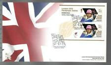 GB 2012 LONDON PARALYMPIC GAMES FDC - DANIELLE BROWN ARCHERY