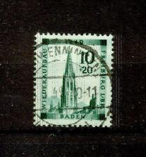 Echte gestempelte Briefmarken aus der französischen Zone (ab 1945)