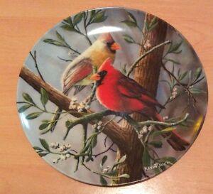 "Kevin Daniel plate - ""The Cardinal"""