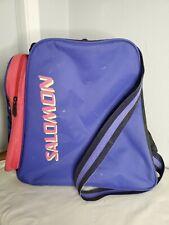 Vintage Salomon Club Ski Boot Bag Neon Purple/Pink/Yellow 80s RetroEXCELLENT CON