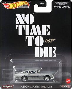 Hot Wheels 2021 Retro Entertainment 007 No Time To Die 1963 Aston Martin DB5