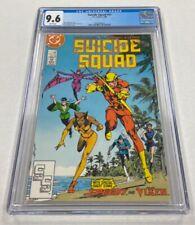 Suicide Squad Issue #11 DC Comics 1988 CGC Graded 9.6 Comic Book