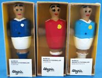 Magnetic Wooden Fridge Magnet Foosball Table Football Figure Player
