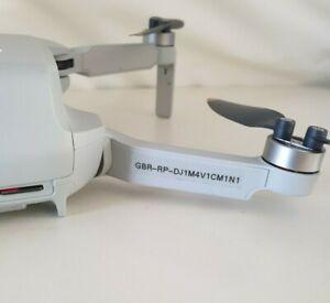 UK drone * Flyer * ID labels. Fits DJI Mavic Mini. Mini 2. Mavic Pro. Evo.