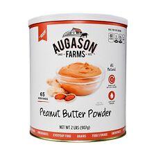 Augason Farms Peanut Butter Powder 32 oz #10 Can Prepper Emergency Food Storage