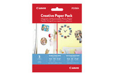 Canon Magnetic and Restickable Creative Photo Paper Pack, 3634C004