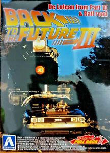 DeLorean Ritorno al Futuro 3 Back to the Future BTTF - 1:43 Aoshima Kit