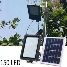 150 LED Solarleuchte Bewegungsmelder Solarstrahler Außenleuchte Gartenlampe EASY