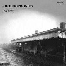 PIG RIDER - Heterophonies /bloody turkey-  2- CD  1974/  1975 UK - Sommor label