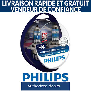 Philips RacingVision Racing Vision H4 Ampoule de voiture (2 Pce) 12342RVS2