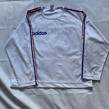 Vintage Adidas Long Sleeve T Shirt Tee- Size Large