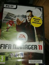 35685 - FIFA Manager 11 [NEW / SEALED] - PC (2010) Windows XP EAE07707577IS