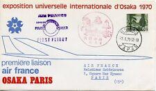 EXPOSITION OSAKA / JAPON / PREMIERE LIAISON AIR FRANCE OSAKA PARIS 1970