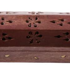Wooden Hollow Out Incense Burner Holder Censer Holder Box Spirituality Relax