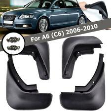 Set Mud Flap Flaps Splash Guards Mudguards For 2006~2010 Audi A6 (C6) Sedan