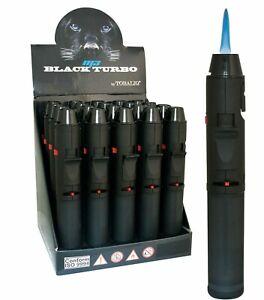 Feuerzeug Turbo Black Brenner M3 Blue Laserflamme Sturmfeuerzeug Jet Flamme Gas