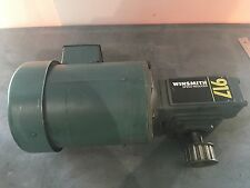 Leeson 3/4 HP 1725 RPM Motor C6T17FC1148 Winsmith Gear Box Speed Reducer 917 MDN