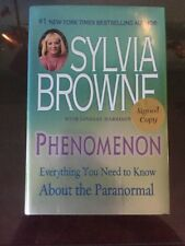 Sylvia Browne Phenomenon Signed Copy. Autographed.