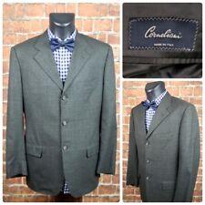 Corneliani Mens 40R US (50R Euro) Three Button Suit Jacket 34 x 30 Pants Wool