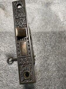 Antique Reading Hardware Co. Windsor Design Steel Faceplate Mortise Lock