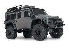 Traxxas TRX-4 Scale Crawler Land Rover Defender Grau 1:10 4WD RTR #82056-4S