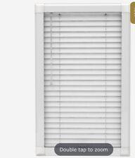 ALUMINIUM VENETIAN WINDOW BLIND SILVER COLOUR 25MM SLATS HOME OFFICE TOILET OFFI