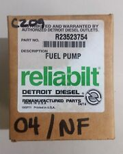 Detroit Diesel Reliabilt R23523754 Fuel Pump