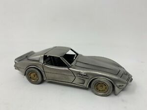 Vintage Nostalgic Miniatures Pewter 1978 Corvette Pace Car  Limited Edition 1:43