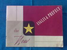 THE NEW ANGLIA E PREFECT - / Brochure / Depliant - anni '50