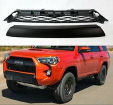 2 Piece Mesh Replacement TRD Pro Style Grills For Toyota 4Runner 14-19