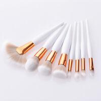 8pcs Pro Makeup Brushes Set Foundation Powder Blush Eyeshadow Eyebrow Brush Tool