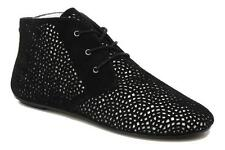 New  House of Harlow 1960 Chopout Killian Suede Ankle Oxford Boots 37