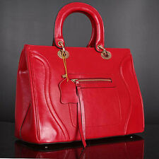 Red Italian Leather Handbags