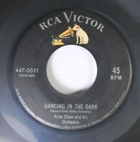 Jazz 45 Artie Shaw And His Orchestra - Dancing In The Dark / Star Dust On Rca