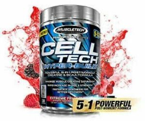 MuscleTech Cell Tech Hyper-Build 5-In-1 Post-Workout Creatine & BCAA Formula!