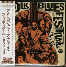 V.A.-AMERICAN FOLK BLUES FESTIVAL 1962-1963-JAPAN 2 MINI LP CD C94