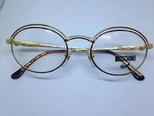 MOSCHINO by Persol M44 occhiali da vista oro ovale vintage uomo man rare glasses