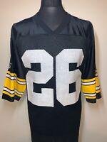 Starter NFL Football Pittsburgh Steelers Black Jersey 26 WOODSON 48L VGC