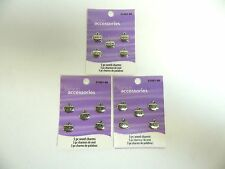 LOVE, PEACE, HOPE, DREAMS, BELIEVE CHARMS SILVER METALS - LOT OF 3 PACKS
