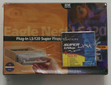 ~New~Exabyte LS-120 Super Floppy Drive & The Nest + Diskette~For Windows 95 Only