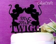Acrilico Mickey Minnie Mouse Matrimonio, Anniversario Cake Topper Decorazione