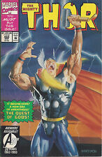 "Mighty Thor #460 (Mar 93) - ""The Quest of the Gods"" - Thor goes to a bar"