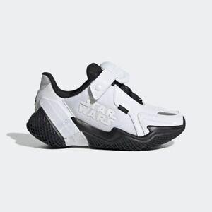 New adidas Star Wars 4UTURE RNR Stormtrooper Running Shoes Kids US 3M