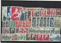 saar mixed stamps ref 16446
