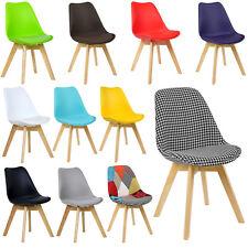 Esszimmerstuhl 1 x Küchenstuhl Stuhl Stühle Holzgestell Kunstleder PP #555-24