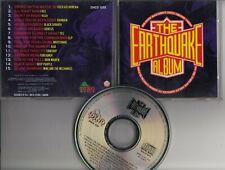 THE EARTHQUAKE ALBUM CD DINO HOLLAND Iron Maiden Rush Rainbow Genesis ELP Asia